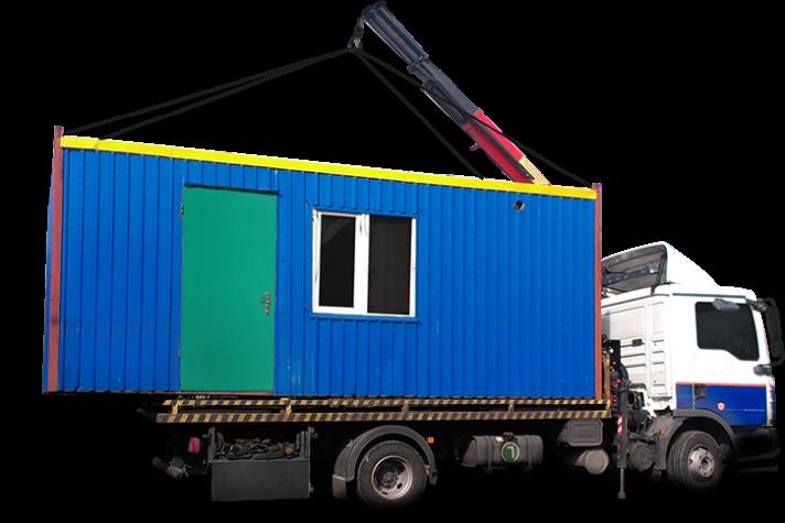 Перевозка мобильных зданий